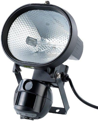 VisorTech Außenkameras: 500-W-Halogenstrahler mit 5-MP-Kamera & Bewegungsmelder (Außen Überwachungskamera-Strahler (SD-Aufzeichnung))