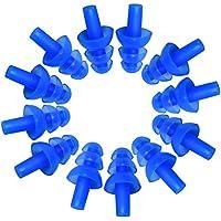 VOOYE 6Paar Silikon Ohrstöpsel Schwimmer–Weich und Flexibel Ohr Plugs für Schwimmen Oder Schlafen Wasserdicht... preisvergleich bei billige-tabletten.eu