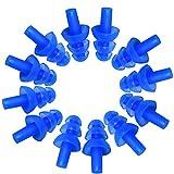 hinmay 6Paris Weich Silikon Ohrstöpsel, komfortablen Wasserdicht Mushroom Ohrstöpsel für Kinder Mann Frau Schwimmen, Schnorcheln und Duschen