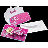 Barbie Popstar Party Einladungen Kindergeburtstag Mädchen