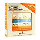 Anthelios Protector Solar Crema Ultra Spf50+, 50ml. PACK 2UN.