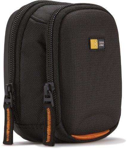 Case Logic SLDC202 Camera Case M Kameratasche inkl. Gürtelschlaufe/Schultergurt (mit Memory-Foam) schwarz Medium Camcorder Case