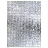 EASEHOME Vinilo Ventana Autoadhesiva Pegatina de Ventana Cristal Película Decorativa Papel Adhesivo Láminas Electrostatica Film Estática Opaco 17.7'x78.7'(45x200cm), Mosaico