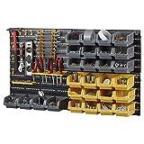 Work Expert Unité de support pour organisateur de stockage multi-outils de bricolage (ensemble de 46 bacs et panneaux)