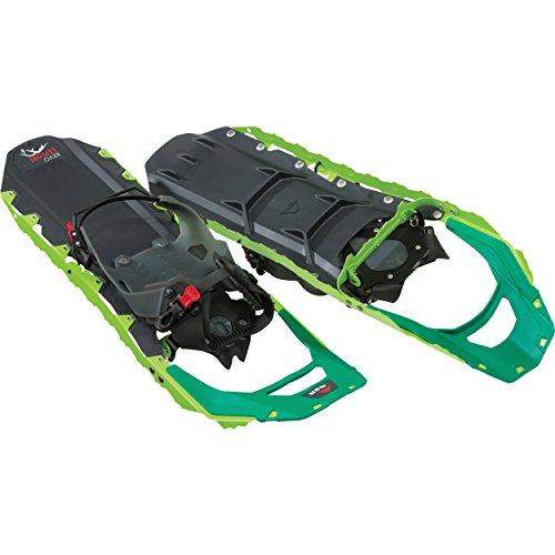 MSR Revo Explore All Mountain Schneeschuhe fürs Wandern und Trekking, 10222, grün - Spring Green, 25-Inch Pair -