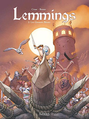 Lemmings, Tome 2 : Les Gemmes Bleues