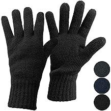 wholesale dealer a2471 758ad ALPIDEX Thermo Strickhandschuhe mit Thinsulate Füllung für Damen und Herren  Fingerhandschuhe für Erwachsene