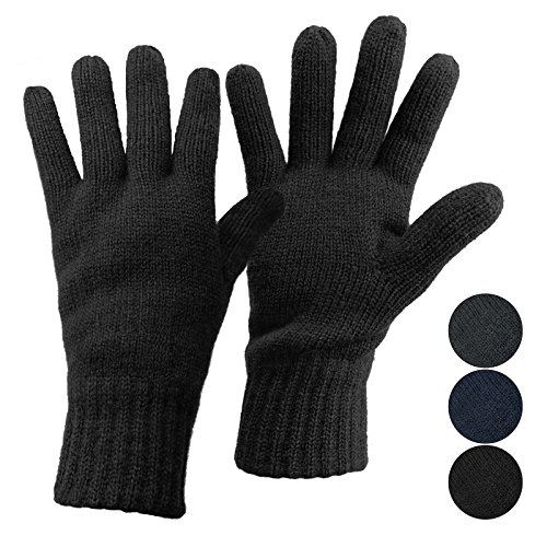 ALPIDEX Guantes térmicos Punto Dark Sheep Thinsulate