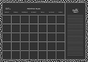 Decopatch-AD014O-Maildor-M. Design-Juego de Adhesivos para Pared-Juego de 2 tablas-49 x 69 cm-Monthly Plan
