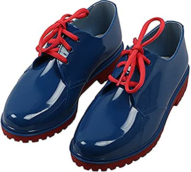 Paean Unisex Blue PVC Shoes