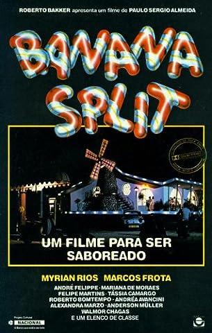 Banana Split Affiche du film Poster Movie Banane à la crème (11 x 17 In - 28cm x 44cm) Brazilian Style A