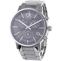 Calvin Klein K7627161 - Orologio da polso da uomo, cinturino in acciaio inox colore argento - Calvin Klein Cinturini