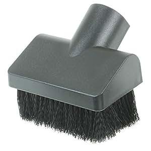 Vacspare - Brosse de dépoussiérage rectangulaire poils souples raccord poussoir 32mm universel qualité premium