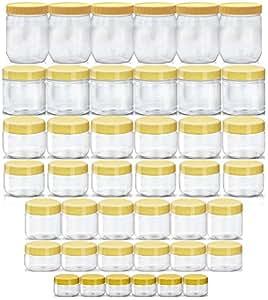 Containers-Sunpet Premium Round Jar Set No. 106480-42 Of 42 Pcs