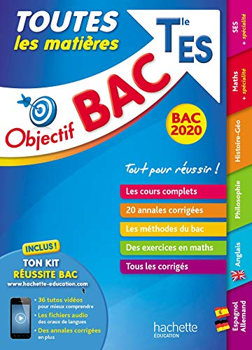 Objectif Bac 2020 Toutes Les Matieres Term ES