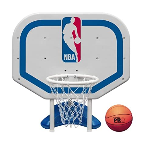 Poolmaster 72931 NBA Logo Pro Rebounder-Style Poolside Basketball Game by