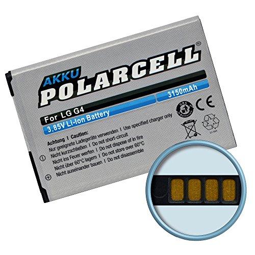 Batería para LG G4H815/BL de 51yf (3150mAh/12,13wh) PolarCell