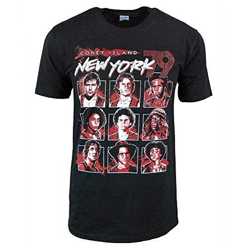 Preisvergleich Produktbild Herren Coney Island New York 79 T-Shirt Schwarz Große – Brust 40-42 Zoll (101.5-106.5 cm) Schwarz