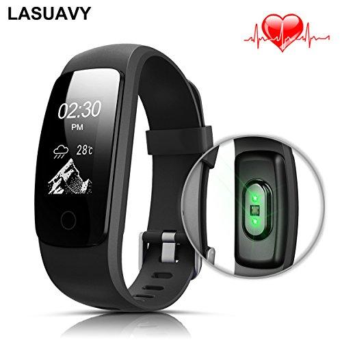Dampf Mantel Der (Fitness Tracker, LASUAVY Fitness Armbanduhr Wasserdicht Fitness Tracker HR mit Herzfrequenz / Schlafanalyse / Kalorienzähler/ SMS / Aktivitätstracker Schrittzähler - Smart Fitness Armband Fitness Armbänder mit Pulsmesser Android IOS)