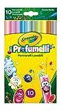Crayola I Profumelli Pennarelli Lavabili Profumati, Punta Media, per Scuola e Tempo Libero, Colori Assortiti, 10 Pezzi, 58-5071