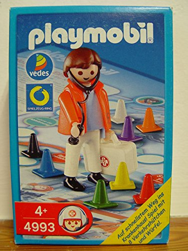 PLAYMOBIL® 4993 - Würfelspiel - Notarzt mit Koffer - Emergency Doctor
