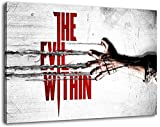 the evil within 2014 game Format 60x40 cm Bild auf Leinwand, XXL riesige Bilder fertig gerahmt mit Keilrahmen, Kunstdruck auf Wandbild mit Rahmen