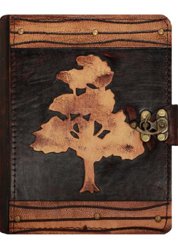 a-little-present-oak-tree-on-a-vintage-leather-cover-case-for-kindle-3-kindle-keyboard-kindle-kindle