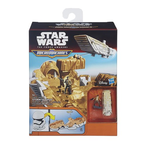 Hasbro  B3510EU4  - Star Wars E7 Micro Machines Battle Sets - Sortiment