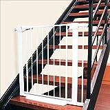 JIMI-I Kindersicherung, Treppengeländer, Zaun, Haustiertürstange, Hundezaun, Türgeländer, Hundezaun (größe : 105-112cm)