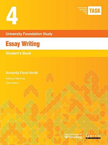 TASK 4 Essay Writing (2015) - Student's Book por Amanda Fava-Verde