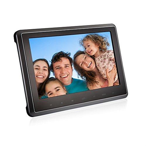 DVD Player AUTO, ACEHE Ultra-thin Monitore Tragbarer 10.1 Inch Zoll Videogeräte für Kopfstütze ,mit TFT LCD Bildschirm, 1080P Unterstützt USB/SD/HDMI/AV/FM