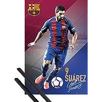 1art1® Póster + Soporte: Fútbol Póster (91x61 cm) FC Barcelona, Luis
