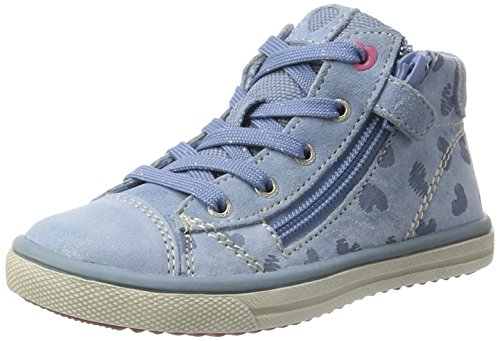 Lurchi Mädchen Secil High-Top Blau (Ice Blue)