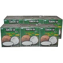 Aroy-D - Kokosmilch - 12er Pack (12 x 150ml)