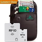 Active Pride Brustbeutel für Damen und Herren zum Reisen - Brusttasche mit RFID-Blockierung - Umhängetasche Klein .