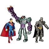 Mattel - Set de 3 figuras Batman y Superman (DHY28)