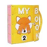 Per Libros Blandos de Material Montessori Tableros de Aprendizaje de...
