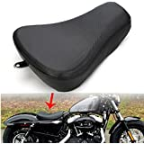 League & Co Noir Moto Siège individuel basculant Sillet pour Harley Sportster Forty Eight xl12008837248