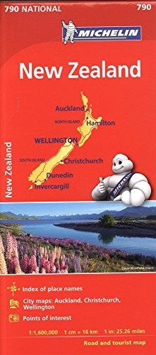 Descargar Libro Michelin New Zealand de Michelin Travel Publications