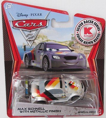 disney-pixar-cars-2-kmart-silver-racer-series-max-schnell-with-metallic-finish