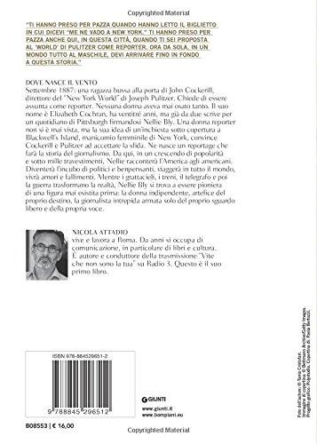 scaricare ebook gratis Dove nasce il vento. Vita di Nellie Bly PDF Epub