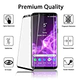 ACEPower Samsung Galaxy S9 Screen Protector Glass [ 3D Full Frame ] Premium Tempered 9H Hardness Super Easy Apply for Samsung Galaxy S9 Work with Most case