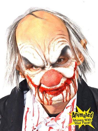 y Clown-Maske Latex (Smiley Latex Maske)
