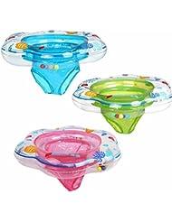 Bazaar 52 * 21cm del bebé flotador de la piscina infantil juguete inflable anillo anillo de niño sentarse en la piscina
