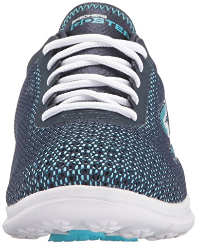 Skechers Go Step Prismatic Womens Chaussure Fitness - SS17 Navy/Light Blue
