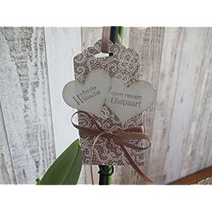 Geschenkanhänger zur Hochzeit