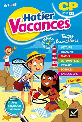 Cahier de vacances du CP vers le CE1 (Hatier Vacances) por Bénédicte Idiard