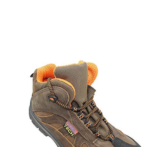 Work tech etui housse s3 sRC chaussures de travail chaussures berufsschuhe businessschuhe chaussures marron Marron - Marron