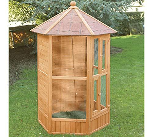 FINCA CASAREJO Voladera para pájaros de jardín Exterior (Canarios, periquitos.) - Voladero...