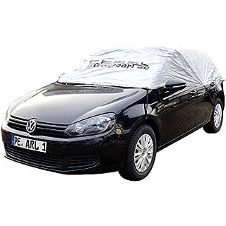 PEARL PKW Halbgarage: Auto-Halbgarage für Mittelklasse Kombi, 380 x 138 x 40 cm (Auto-Halbgaragen Winter)